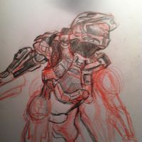 Master Chief by Spider-Kingj