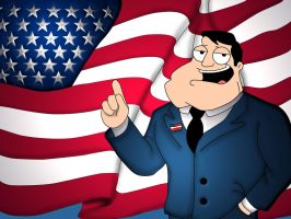 American Dad - Honor and Pride by DarkGX