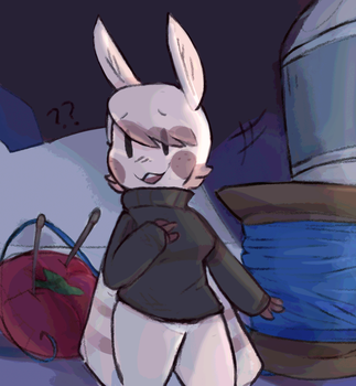 Smol moth yiffer by meowing-ghost