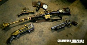 Steampunk Arsenal by JohnsonArms