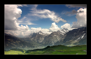 Swiss Alps by feisar