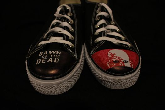DAWN OF THE DEAD SHOES by tntrekabulator