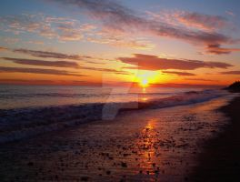 Matunuck Beach Sunset by Tapped-Creations