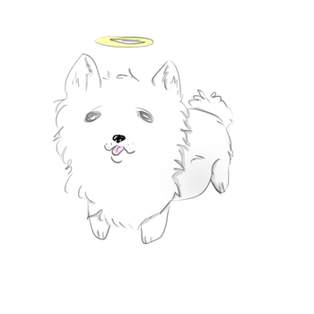 Gabe the dog by Emberex1998