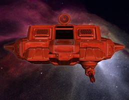 Hasker Combat Shuttle 02 by MADMANMIKE