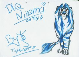 Very old gift for Nirami by TigaLioness