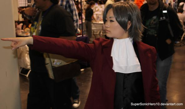 Miles Edgeworth Cosplay by SuperSonicHero10