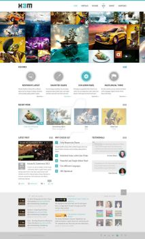 Extreme Portfolio PSD Template ON SALE!!! by x3mwoman