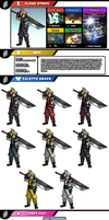 Newcomer Cloud Strife by evilwaluigi