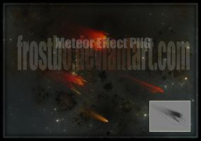 Meteor Effect render PNG by FrostBo
