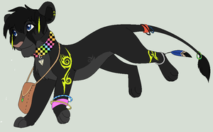 ABOMinimable Spectra Design commission by Kainaa