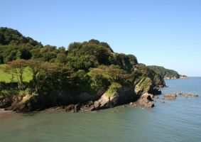 Devon Coastline 4 - Stock by OghamMoon