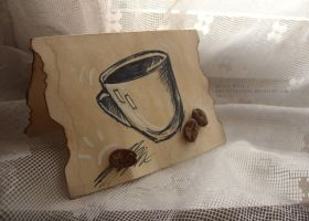 Coffee cup by gabriella-coven