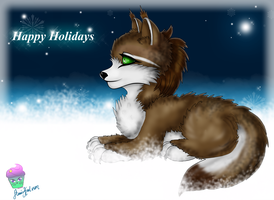 Happy-Holidays-FoxTa1l by AilwynRaydom