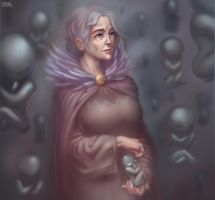The Ancient Mother by Eriyal