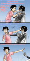 wow karkat, rude by ryounkura