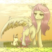 Fluttershy the Caring by AriaSolarena