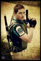 Chris Redfield Resident Evil 5 by JonathanDuran