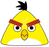 Angry Birds - Chuck by SuperMarioFan65