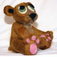 Odd Needle Felted Bear by The-GoblinQueen
