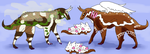 Quest Prizes Coconut and Gingerbread by DEAFHPN