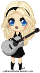 Taylor Swift Chibi by Turkey-Wang
