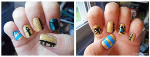 Tombs of Egypt Nails by Ebony-Rose13