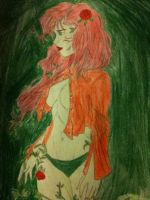 poison ivy by ClownPrinceOfCrime69