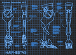 Haephestus Prosthetics Blueprint by Spirogs
