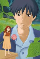 Arrietty colored by nagu-chan