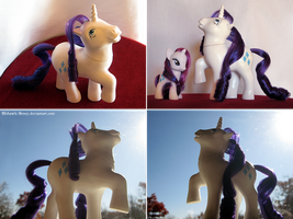 MLP Custom: G1 Rarity by MohawkMax