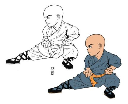 The Shaolin Kid by rob3rtroy