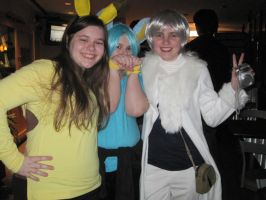 Pikachu,Shinx, and Absol by BunnyGirl103