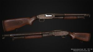 Winchester Model 1912 Pumpgun by Kn3chtRuprecht