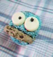 3D- Cookie Monster by mio-mio