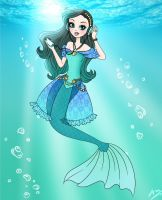 melody mermaid by an1461997