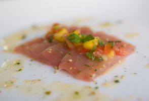 Yellowfin with Mango Salsa 2 by ThomasVo