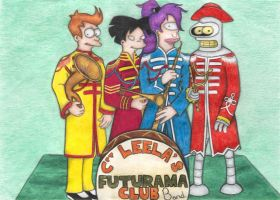 Cpt Leela's Futurama Club Band by Sofen