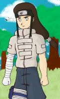 Neji at the forest by duducaico