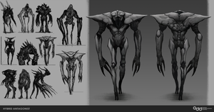 Hybrid antagonist Concept by SilentIvo