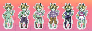 Anthro Deer Auction ~CLOSED~ by Esarts-Adopts