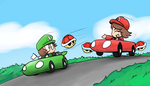 No More Mario Karting by willtommo