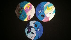 Yin Yang Pony Patches by RabbitTales