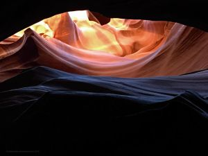 Waves of Color, Antelope canyon by artamusica