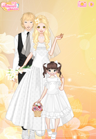 Fiona and Wilson's Wedding plus Flower Girl Amber by PiccoloFreakNamick