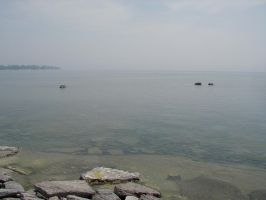 Misty on the St. Lawrence by Lectrichead