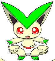 Vira The Victini by deadf1