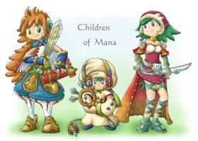 Children of Mana by MoriGuru