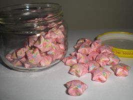 Lucky Stars-pink patterned by xneeneex