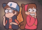 Gravity Falls by WishingGirl